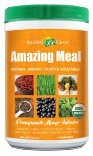 Amazing Meal Pomegranate Mango Infusion (15.5 oz) Amazing Grass
