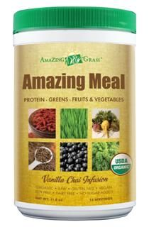 Amazing Meal Vanilla Chai Infusion (12.4 oz) Amazing Grass