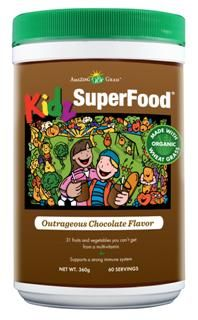 Kidz SuperFood Chocolate Powder (60 day supply) Amazing Grass