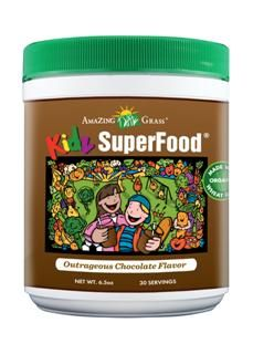 Kidz SuperFood Chocolate Powder (6.5 oz) Amazing Grass