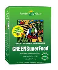 High Energy Green SuperFood Packets (15 pkts. Lemon-Lime) Amazing Grass