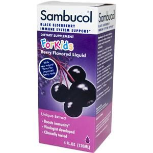 Sambucol for Kids | Black Elderberry Immune Formula (4 oz) Sambucol