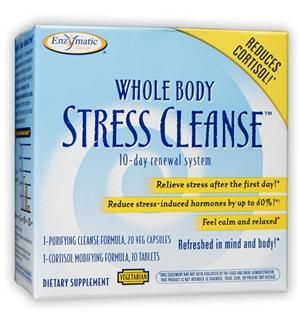 Whole Body Stress Cleanse (10 day supply) Enzymatic Therapy