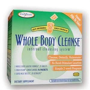 Whole Body Cleanse Kit (10 day plan) Enzymatic Therapy