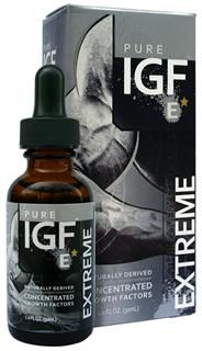 Pure IGF Extreme | Liquid Deer Velvet Extract (11 mg, 1 oz) Pure Solutions