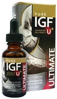 Pure IGF Ultimate Formula |Deer Velvet Antler (19 mg , 1 oz) Pure Solutions