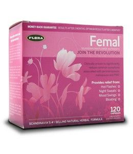 Femal Twin Pack (2 x 60 caps) Flora