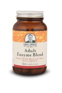 Udo's Adult Enzyme Blend (60 v-capsules) Flora Health, Udo's Choice