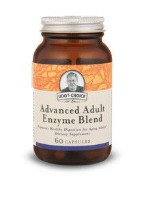 Udo's Advanced Adult Enzyme Blend   (60 v-capsules) Flora Health, Udo's Choice