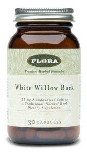 White Willow Bark (30 capsules) Flora