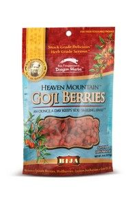Bija Heaven Mountain Goji Berries (8 oz) Flora Health, Bija