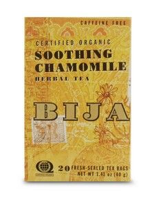 Bija Soothing Chamomile Tea New (20 teabags) Flora Health, Bija
