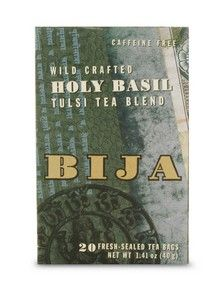 Bija Holy Basil Tea (20 teabags) Flora Health, Bija