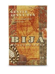 Bija Gentle Senna Tea (20 teabags) Flora Health, Bija