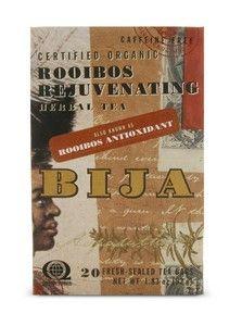 Bija Rooibos Anti-Oxidant Tea (20 teabags) Flora Health, Bija