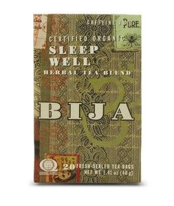 Bija Sleep Well (20 teabags) Flora Health, Bija