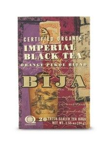 Bija Imperial Black Tea (20 teabags) Flora Health, Bija