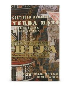 Bija Yerba Mate (20 teabags) Flora Health, Bija