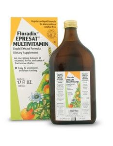 Epresat Multivitamin Liquid Extract (17 oz) Flora Health, Floradix