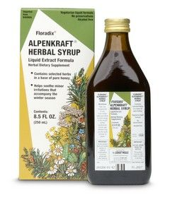 Alpenkraft Herbal Syrup (8.5 oz) Flora Health, Floradix