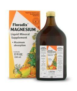 Magnesium liquid (17 oz) Flora Health, Floradix