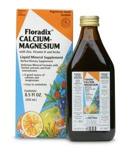 Floradix Calcium - Magnesium (8.5 oz) Flora Health, Floradix