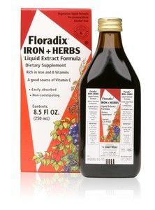 Floradix Iron & Herbs (8.5 oz) Flora Health, Floradix