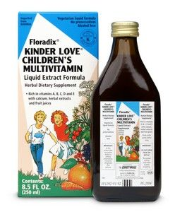 Kinder Love Children's Multivitamin (8.5 oz) Flora Health, Floradix