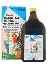 Kinder Love Children's Multivitamin (17 oz) Flora Health, Floradix