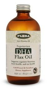 Vegetarian DHA Flax Oil (8.5 oz.)* Flora