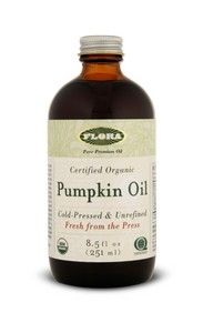 Pumpkin Oil, certified organic (8.5 oz) Flora