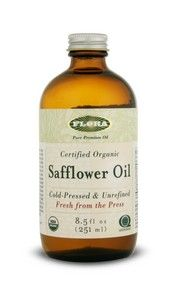 Safflower Oil, certified organic (8.5 oz) Flora
