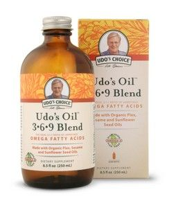 Udos Oil 3-6-9-Blend (8.5 oz) Flora Health, Udo's Choice