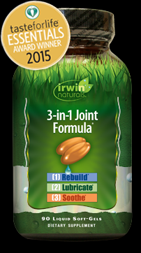 3-in-1 Joint Formula (90 softgels) Irwin Naturals