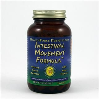 Intestinal Movement Formula (50  vegan capsules)* HealthForce Nutritionals