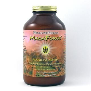 MacaForce (Vanilla Spice, 350 gr) HealthForce Nutritionals