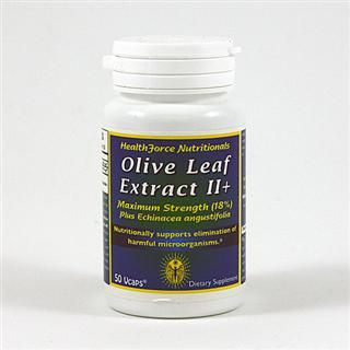Olive Leaf Extract II plus Echinacea (50  VCaps)* HealthForce Nutritionals