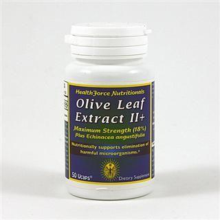 Olive Leaf Extract II plus Echinacea (50  VCaps)* HealthForce Nutritionals
