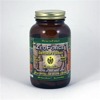 ZeoForce (60  vegan capsules)* HealthForce Nutritionals