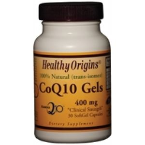 CoQ10 Gels 400mg (30 Gels) Healthy Origins