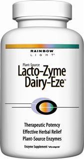 Lacto-Zyme Dairy-Eze (90 capsules)* Rainbow Light