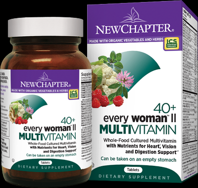 40plus Every Woman II Multivitamin (96 tablets)* New Chapter Nutrition