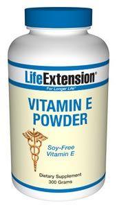 Vitamin E (synthetic) (300 grams powder)* Life Extension