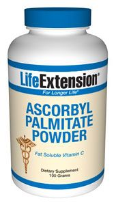 Ascorbyl Palmitate Powder (100 gr)* Life Extension