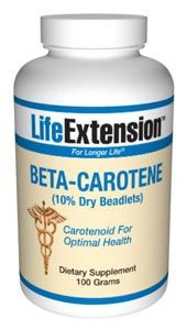 Beta-Carotene (100 grams powder)* Life Extension