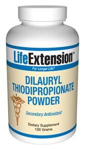 Dilauryl Thiodipropionate (100 grams powder)* Life Extension
