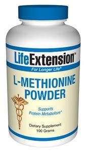 L-Methionine (100 grams powder)* Life Extension