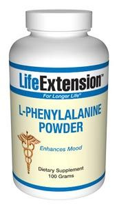 L-Phenylalanine (100 grams powder)* Life Extension