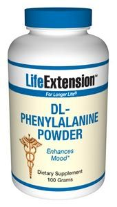 D,L-Phenylalanine (100 grams powder)* Life Extension