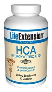 HCA (hydroxycitric acid) (90 vcaps)* Life Extension